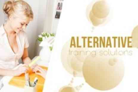 Alternative Training Solutions - One Day Manicure or Pedicure Training Course With Certified Diploma - Save 62%