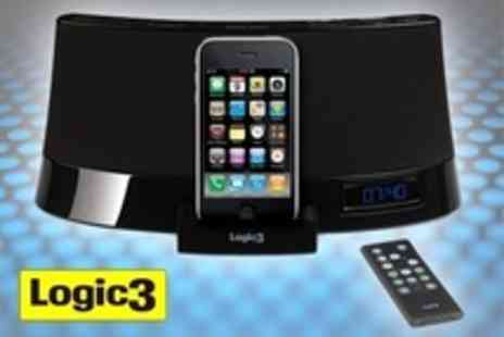 Logic3 - i Station26 Speaker Dock For iPod or iPhone With Built In Subwoofer and Radio - Save 59%