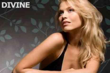 Divine - Full Head Highlights or Colour Plus Cut and Blow Dry - Save 60%