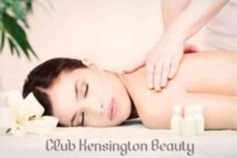 Club Kensington Beauty - Three Beauty Treatments Including Massages, Facials and Microdermabrasion - Save 51%