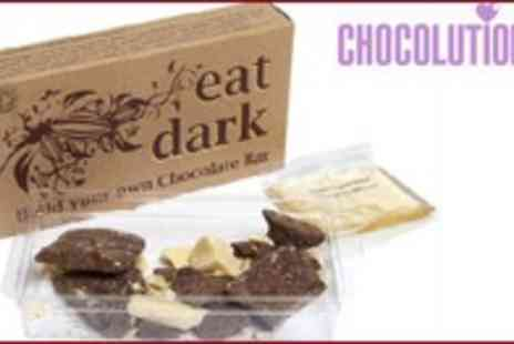 The Chocolution - 5 Packets of Build Your Own Chocolate Bar Kits - Save 50%