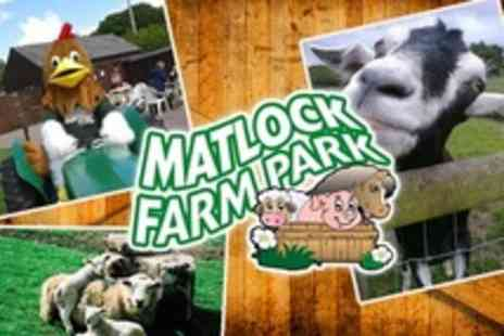 Matlock Farm Park - Day Passes For Family of Two or Four - Save 64%