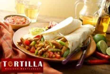 Tortilla - Two Course Mexican Meal - Save 57%