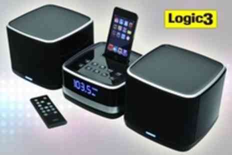 Logic3 - i Station Tower For iPhone One or Two  Speaker Systems - Save 54%