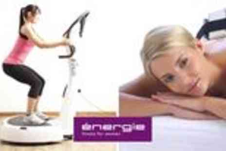 Energie Fitness For Women - Two Lipo Light treatments with a Vplate or personal training session - Save 65%