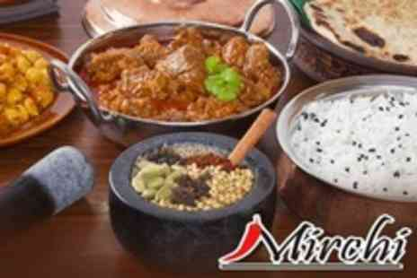 Mirchi - Two Course Bangladeshi and Indian Meal For Two - Save 57%