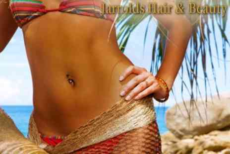 Jarrolds Hair & Beauty - Full Body Spray Tan With Drink (£25 Value) - Save 64%