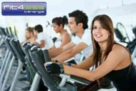 Fit4Less - Gym One Month Pass With Access to Classes For One - Save 52%