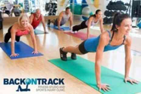 Back on Track Fitness - Ten Group Fitness Classes with Four Personal Training Sessions - Save 50%