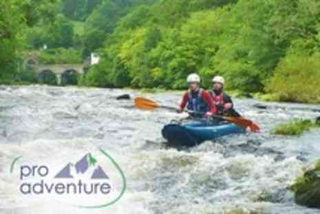 ProAdventure Activities - Three Hour White Water Kayaking Experience For One - Save 66%