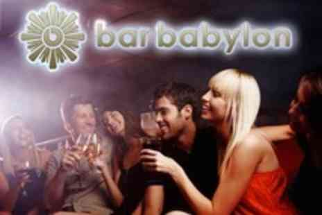 Bar Babylon - VIP Party Area For Up to 20 - Save 52%