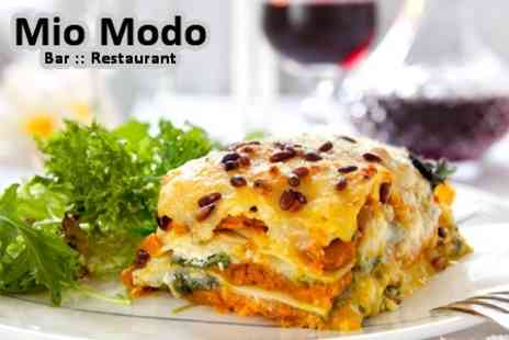 Mio Modo - Two Courses of Italian Food For Two - Save 60%