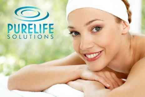 Purelife Solutions - Pamper Package With Bamboo Cane and High Roller Massage - Save 56%