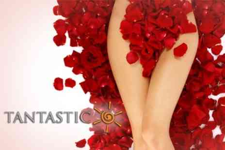 It's Tantastic - Brazilian or Hollywood Hot Wax - Save 67%