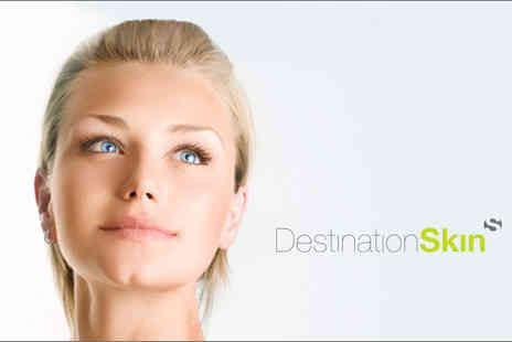 Destination Skin - Two skin brightening, anti-blemish vitamin C facial peels - Save 71%