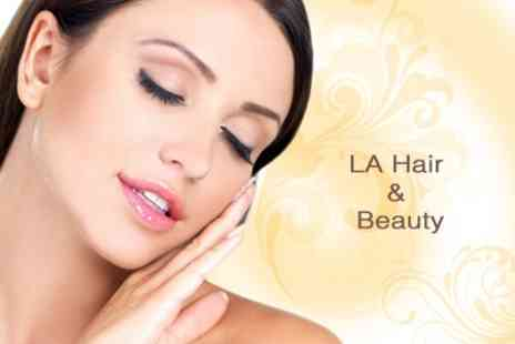 LA Hair and Beauty - Three Microdermabrasion Sessions - Save 63%