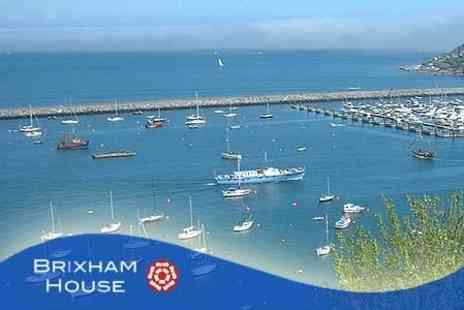 Brixham House - Overnight Stay Plus Breakfast and Glass of Wine For Two - Save 60%