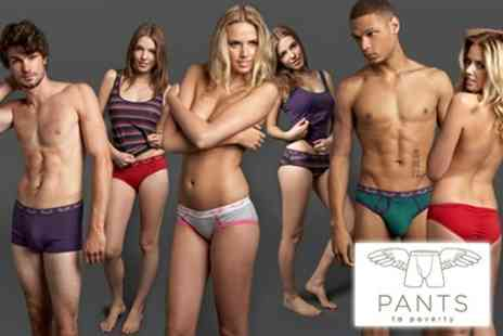 Pants to Poverty - Ethical Underwear - Save 60%