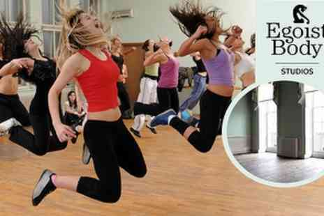 Egoist Body Studios - 1 Hour Sessions of Zumba Latin Burn - Save 58%