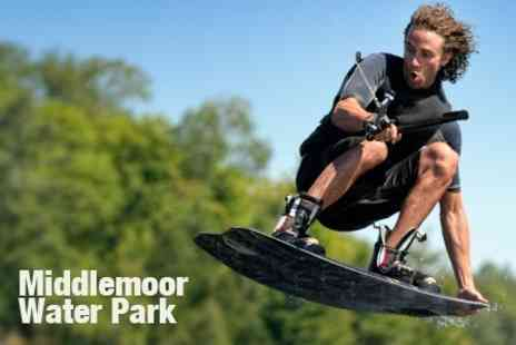 Middlemoor Waterpark - Water Skiing or Wakeboarding Lesson - Save 50%
