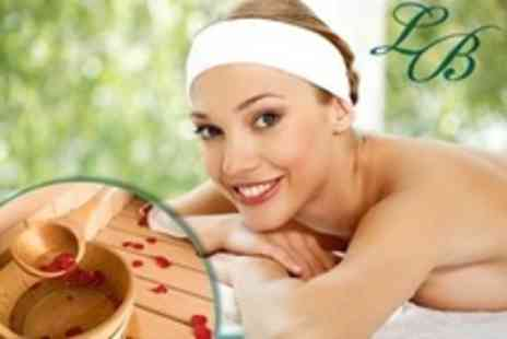 Laurabella - Body Scrub For Two With Hot Tub and Sauna Access - Save 81%