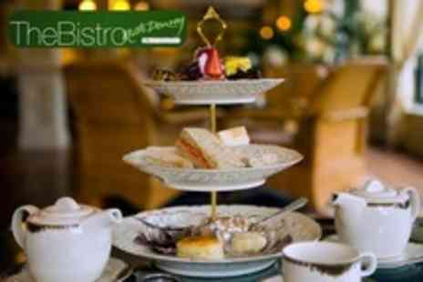 The Bistro at Haguelands - Winter Warmer or Retro Afternoon Tea With Bubbly For Two - Save 50%