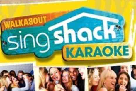Walkabout Nottingham - Two Hour Private Karaoke Session For Up to Ten  Plus Two Bottles of Bubbly - Save 80%