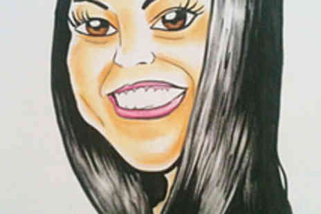 Caricature Workshop - Unique Hand Drawn A3 Caricature - Save 70%