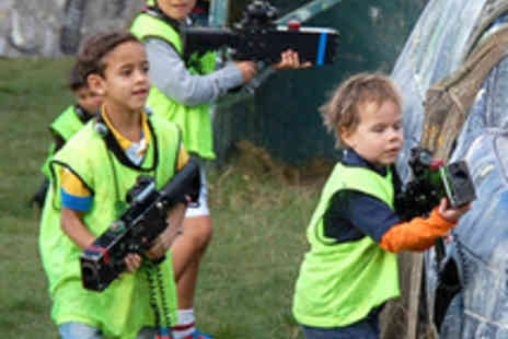 Adrenalin Rush - Laser Tag Session for Five People - Save 61%
