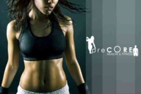 Precore Fitness - Four Week Personal Training Package Plus Two Vibration Plate Sessions - Save 28%