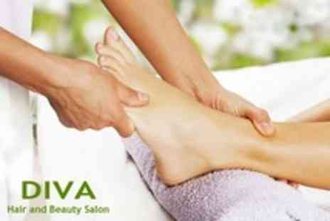 Diva Hair and Beauty Salon - Pedicure With Callus Peel, Massage and Scrub - Save 50%