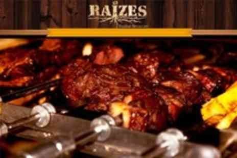 Raizes - All You Can Eat BBQ For Two - Save 56%