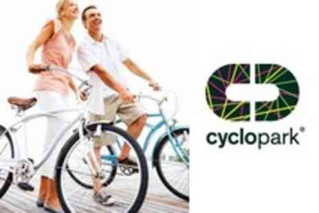 Cyclopark - Family Cycling with Bike and Helmet Hire For Up To Five - Save 22%