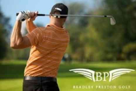 Bradley Preston Golf - Three Lessons With a PGA Professional For One - Save 81%