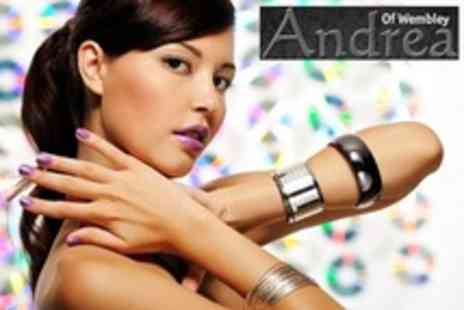 Andrea of Wembley - OPI Manicure and Pedicure - Save 55%