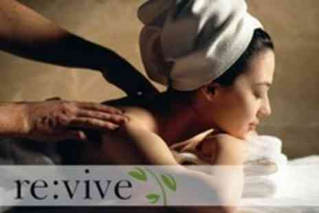 Revive - Spa Day With Massage and Facial Plus Use of Leisure Facilities - Save 60%