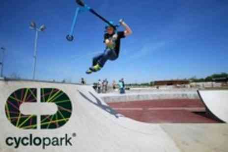 Cyclopark - GRIT Scooter Sessions With Pro Riders - Save 60%