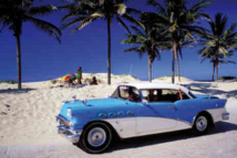 Cuba city - 10 nights split between hip Havana and an all-inclusive stay in paradisal Varadero - travel included - Save 26%