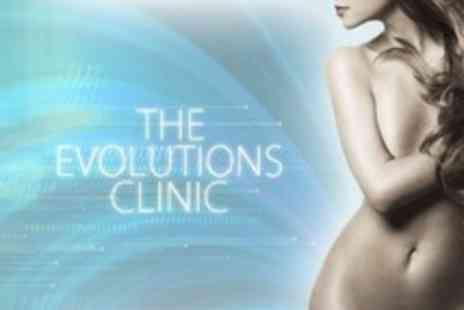 The Evolutions Clinic - Cryo Lipolysis on One Areas - Save 69%