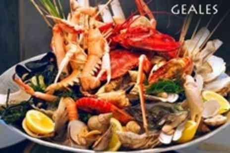 Geales Restaurants - Seafood For Two - Save 56%