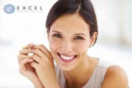 Excel Dental Clinic - Single Dental Implant Including Bone Augmentation and Crown - Save 56%