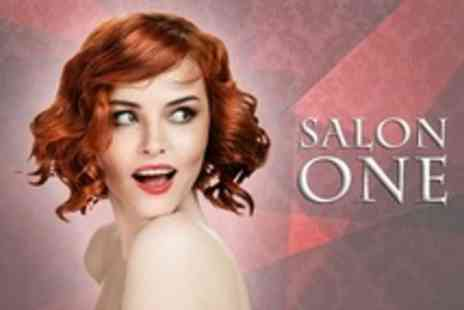 Salon One - Cut and Finish With LOreal Conditioning Treatment Plus Full Head of Colour - Save 74%