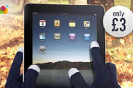 Smartass - Keep Your Fingers Warm with Touchscreen Smart Gloves - Save 70%