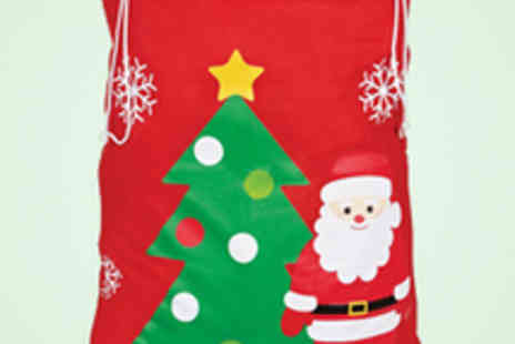 Identity Direct - Personalised Christmas Sack with Delivery - Save 52%