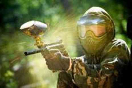 Unreal Paintball - The ultimate paintball experience plus lunch and 100 paintballs - Save 88%