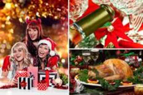 The Kimberley Hotel - Christmas party evening for 6 including a three-course dinner, half a bottle of wine, tea, coffee and mince pies each plus a disco with a live DJ - Save 50%