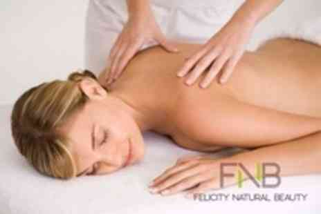 Felicity Natural Beauty - One Day Massage Course - Save 11%