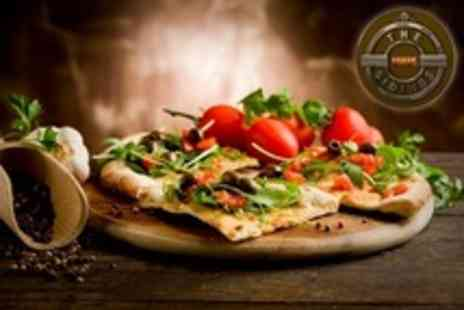 The Sidings - Two Course Pizza or Pasta Meal For Two With Glass of Wine - Save 55%