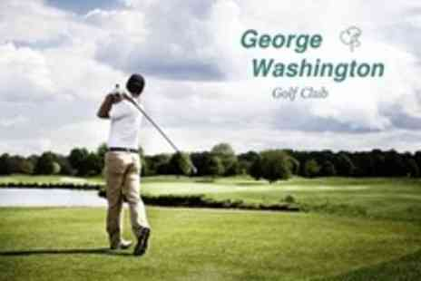 George Washington Golf Club - 18 Holes of Golf For Two - Save 53%