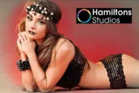 Hamiltons Studios - Vintage Makeover Photoshoot For One With Prints - Save 85%